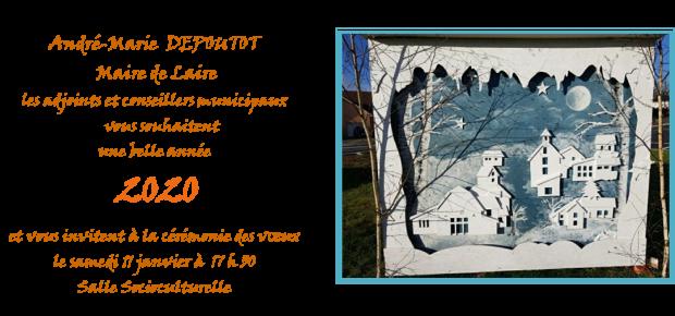 Invitation voeux du Maire